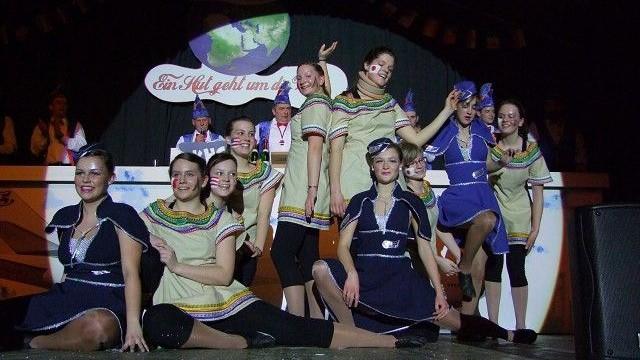Jugendtanzgarde 2011 – Reise um die Welt